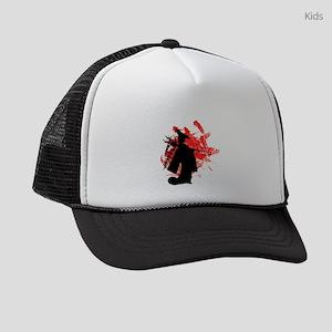 Japanese Girl Kids Trucker hat