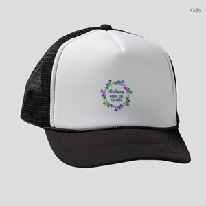 Ballroom Sparkles Kids Trucker hat