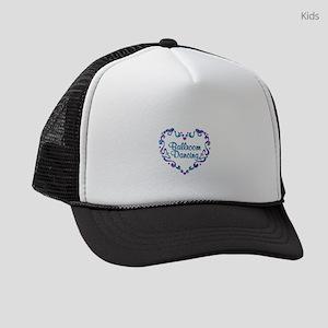 Ballroom Dancing Fancy Heart Kids Trucker hat