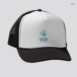 Theatre Sparkles Kids Trucker hat