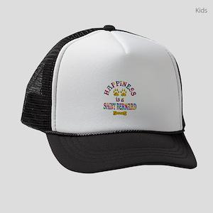 Saint Bernard Happiness Kids Trucker hat