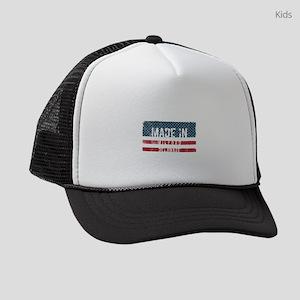 Made in Milford, Delaware Kids Trucker hat