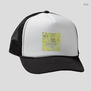Shakespeare humorous quote Kids Trucker hat
