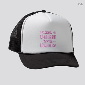 Fabulous 13th Birthday Kids Trucker hat
