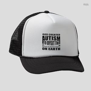 Autism support Kids Trucker hat