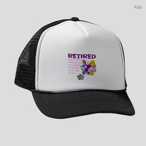 Retired Kids Trucker hat