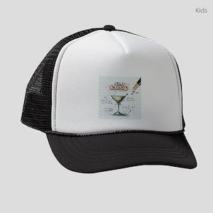 Dirty Martini (White) Kids Trucker hat