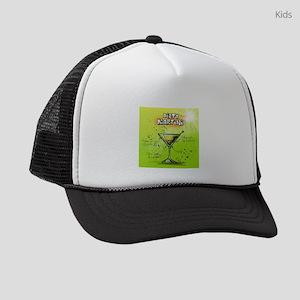 Dirty Martini (Green) Kids Trucker hat