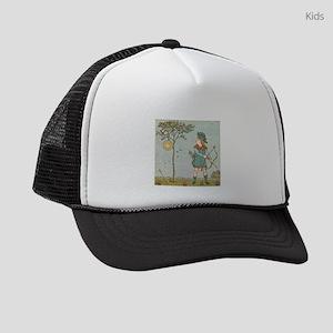 Vintage Illustration Kids Trucker hat
