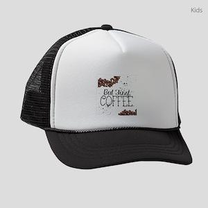 But First Coffee Kids Trucker hat