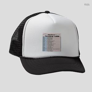 senior texting code Kids Trucker hat