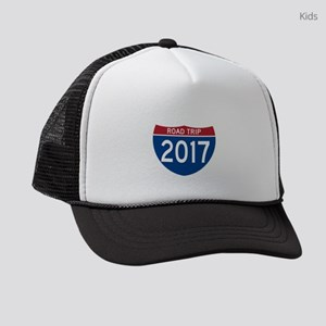 Road Trip 2017 Kids Trucker hat