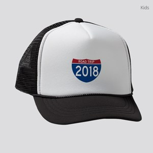 Road Trip 2018 Kids Trucker hat