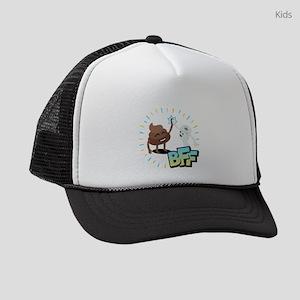 Emoji Poop Toilet Paper BFF Kids Trucker hat