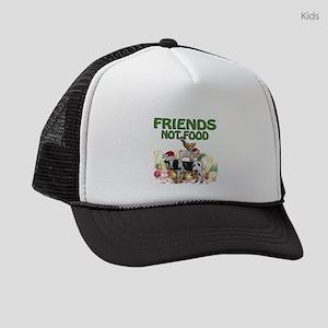 CHRISTMAS FRIENDS NOT FOOD Kids Trucker hat