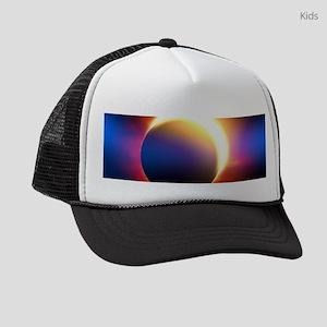 Solar Eclipse Kids Trucker hat