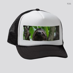 Sloth_20171101_by_JAMFoto Kids Trucker hat
