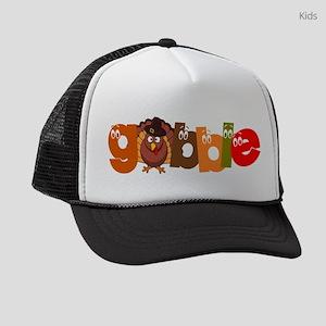 THANKSGIVING: GOBBLE Kids Trucker hat