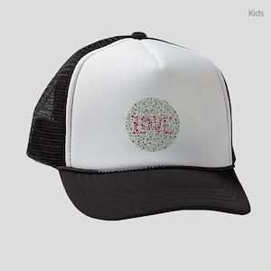 Colorblind Love Kids Trucker hat