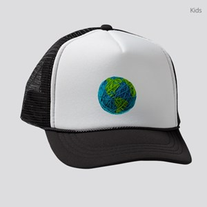 Global Ball of Yarn Kids Trucker hat
