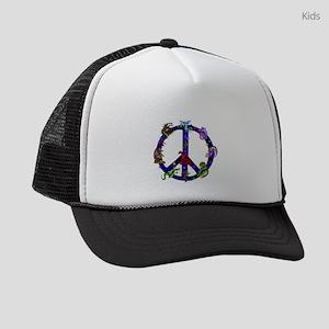 Dragons Peace Sign Kids Trucker hat