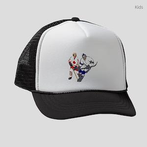Ice Hockey Kids Trucker hat