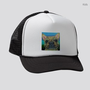Fawn Frenchie Kids Trucker hat