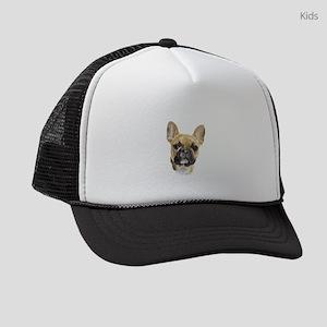 French Bulldog Puppy Portrait Kids Trucker hat