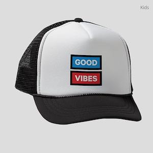 Good Vibes Kids Trucker hat