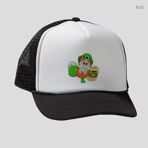 Funny St Patricks day t shirts Kids Trucker hat