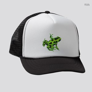 Green Dart Frog Kids Trucker hat