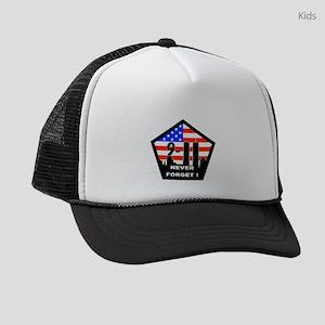 911 never forget Kids Trucker hat
