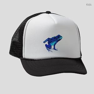 Blue Dart Frog Kids Trucker hat