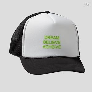 Dream Believe Acheive Kids Trucker hat