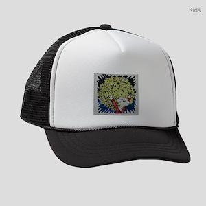 SHAGGY AFRO DOG HAIR Kids Trucker hat