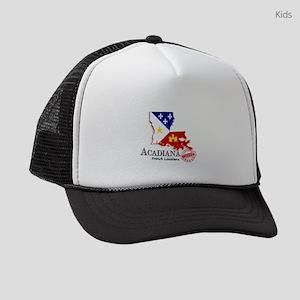 Acadiana French Louisiana Cajun Kids Trucker hat