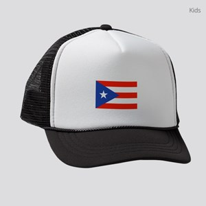 Boricua Puerto Rican Flag 4Quique Kids Trucker hat