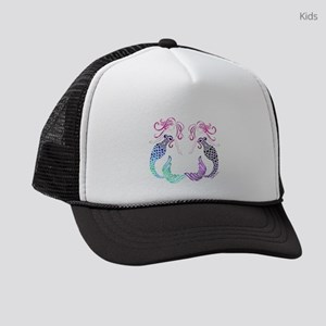 Mermaid Gals Kids Trucker hat