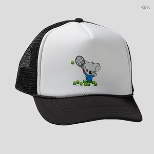Tennis Koala Bear Kids Trucker hat