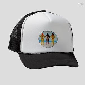 Beach Bums Kids Trucker hat