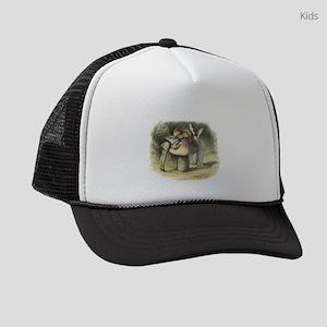 A Fairy Kiss Kids Trucker hat