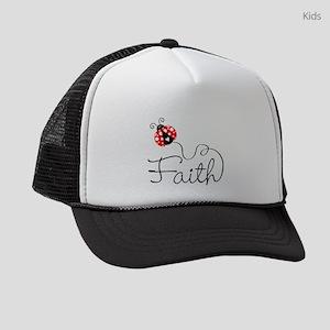 Ladybug Faith Kids Trucker hat