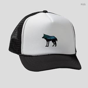 WOLF NIGHTLY Kids Trucker hat