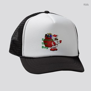 secure the bag santa Kids Trucker hat