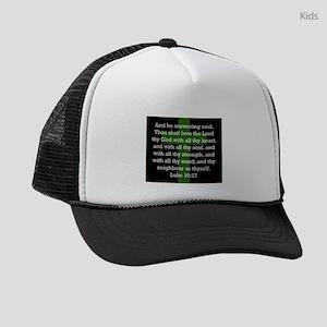 Luke 10:27 Kids Trucker hat