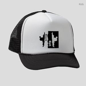 Black Belt Ripped Kids Trucker hat