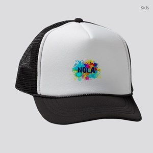 Good Vibes NOLA Burst Kids Trucker hat