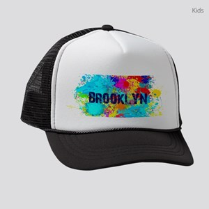 BROOKLYN NY SPLASH Kids Trucker hat