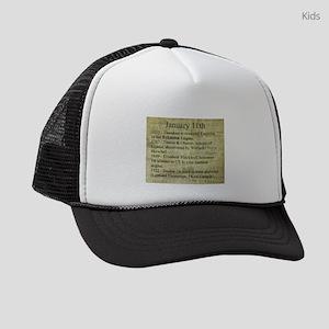January 11th Kids Trucker hat