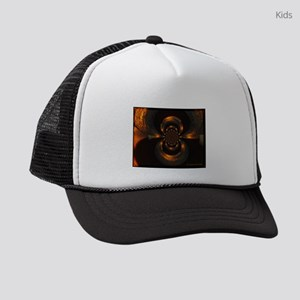 Copper Swirl Kids Trucker hat